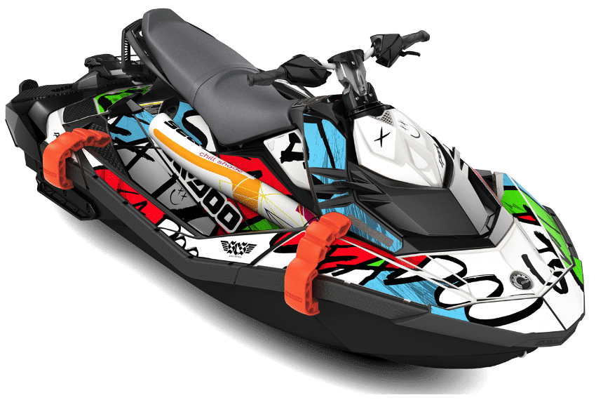 Sea Doo Spark Trixx Graphic Decals