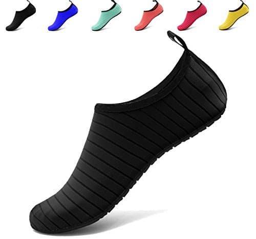 VIFUUR Jet Ski Shoes Barefoot Quick-Dry Aqua Slip-on for Men Women Kids