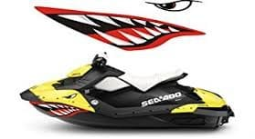 Sea Doo Spark Shark Decal