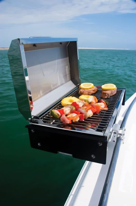 must have boating accessories grill